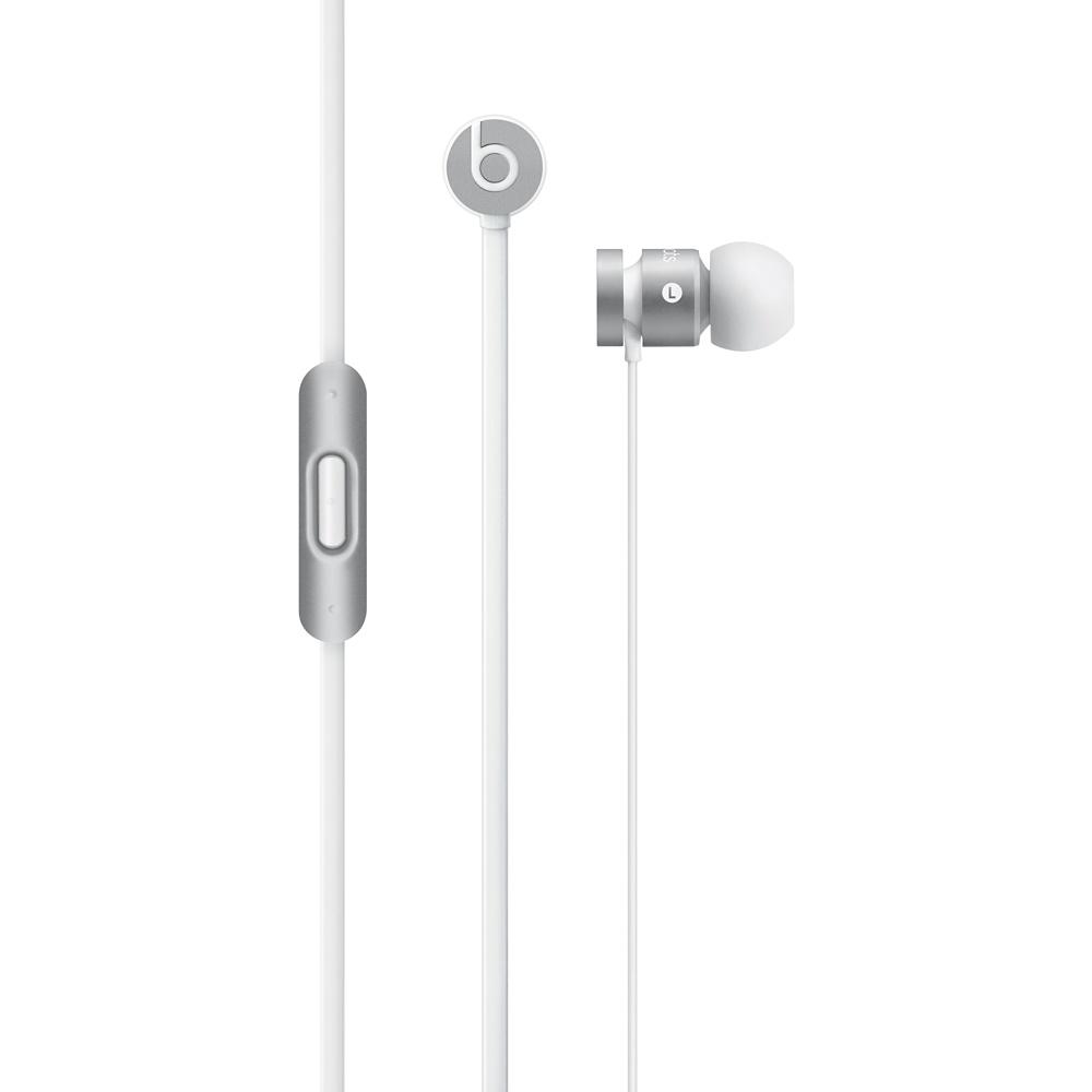 Apple Beats by Dr. Dre urBeats In-Ear Headphones - New Silver, MK9Y2ZM/A