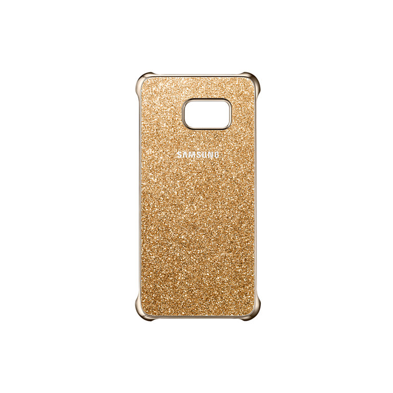 Samsung EF-XG928CF Glitter ochranný kryt pro G928 Galaxy S6 Edge+, Gold