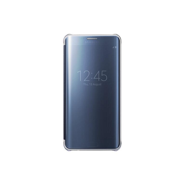 Samsung EF-ZG928CB Clear View flipové pouzdro pro G928 Galaxy S6 Edge+, Blue