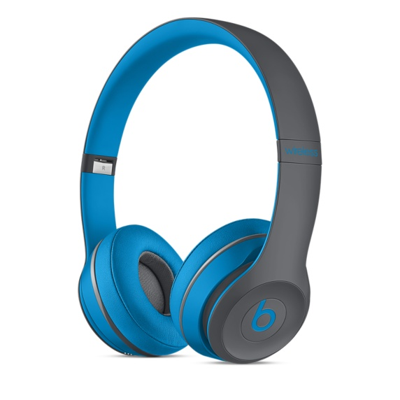 Bezdrátová sluchátka Apple Beats Solo2 Wireless Headphon Active modré
