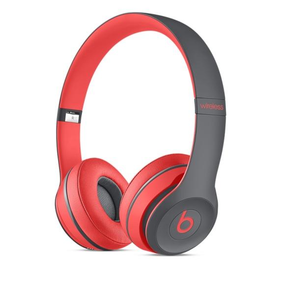 Bezdrátová sluchátka Apple Beats Solo2 Wireless Headphone červené