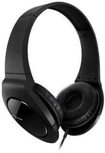 Stylová sluchátka Pioneer černá