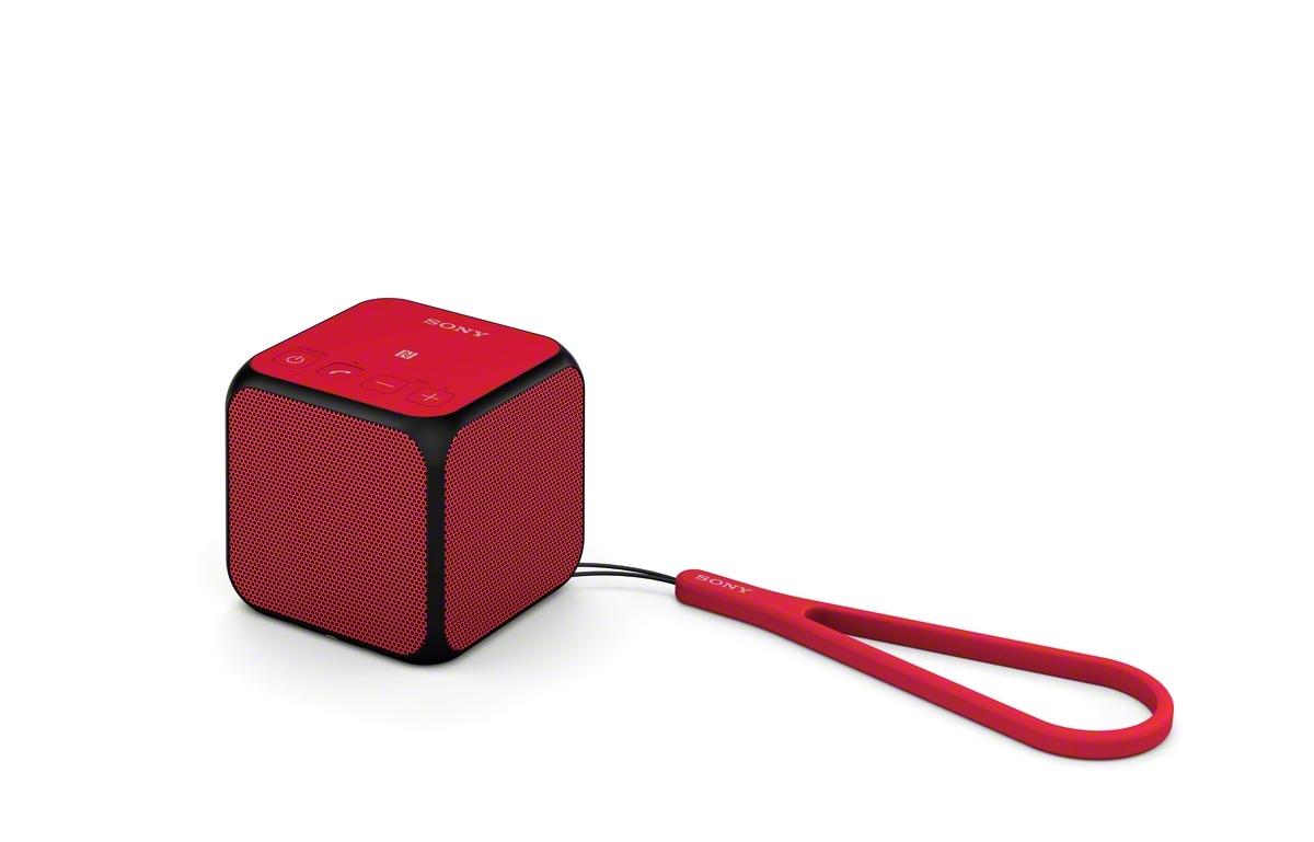 Bezdrátový reproduktor Sony SRS-X11 BT,NFC červený