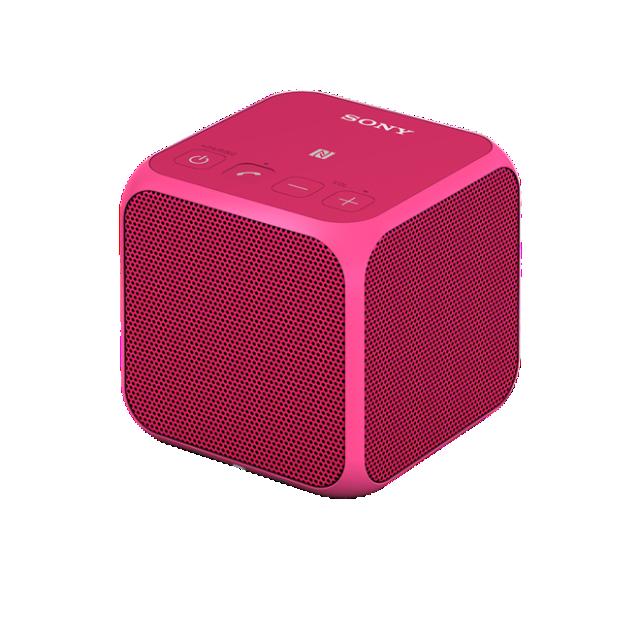 Bezdrátový reproduktor Sony SRS-X11 BT,NFC růžový