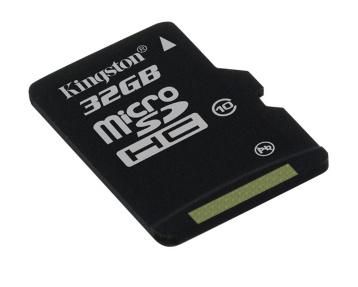 Paměťová karta KINGSTON 32GB Micro SDHC, class 10 (bez adaptéru)