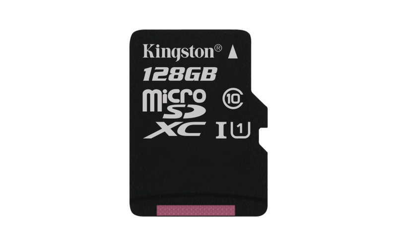 Paměťová karta KINGSTON 128GB Micro SDXC, class 10 45R/10W (bez adaptéru)