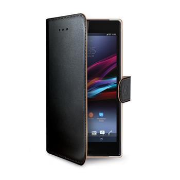 Pouzdro flip na Microsoft Lumia 950 CELLY Wally černé