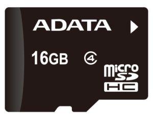 Paměťová karta ADATA 16GB MicroSDHC Class 4, 4MB/s bez adaptéru