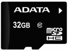 Paměťová karta ADATA 32GB MicroSDHC Class 10, 10MB/s s usb čtečkou