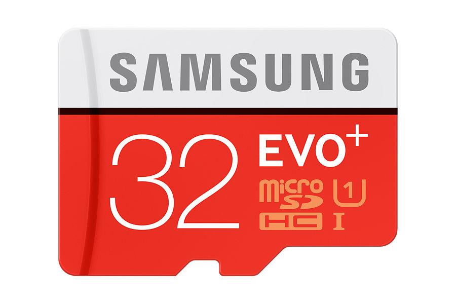 Paměťová Micro SD karta Samsung EVO Plus 32GB + SD adaptér