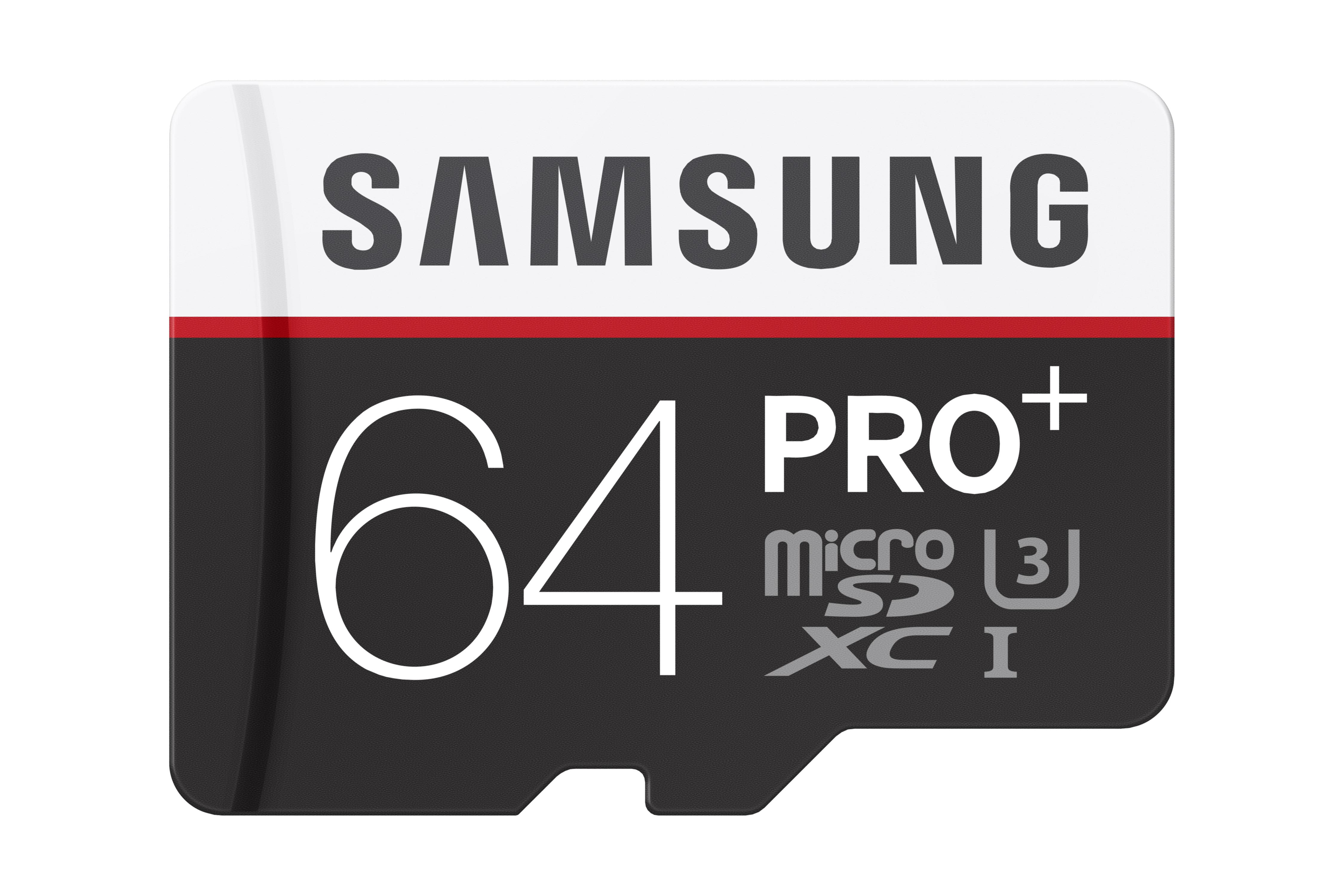 Paměťová karta Samsung 64GB Micro SDHC class10, 95MB/s s adaptérem