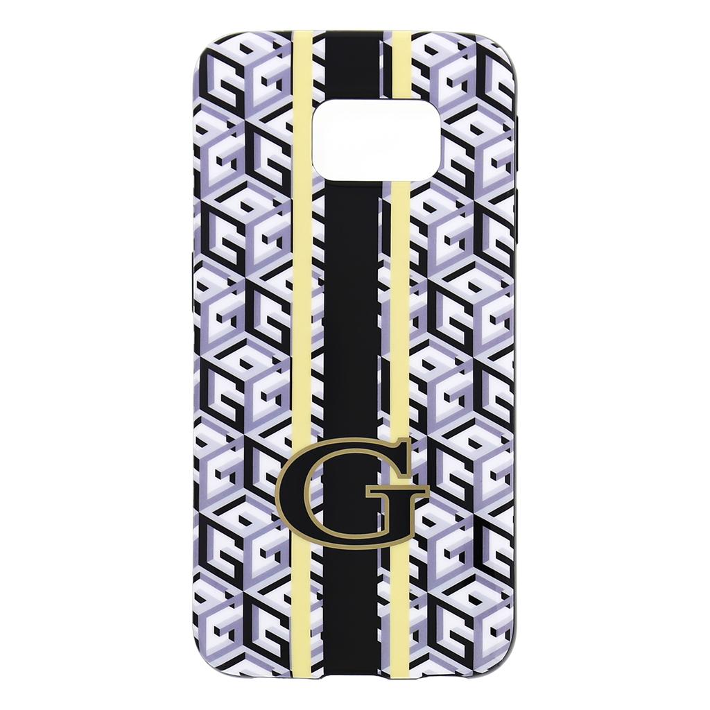 Zadní kryt na mobil Samsung Galaxy S6 Edge Guess G-Cube GUHCS6EGCUBK černé