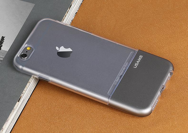 Zadní kryt na mobil iPhone 6S USAMS Ease černé