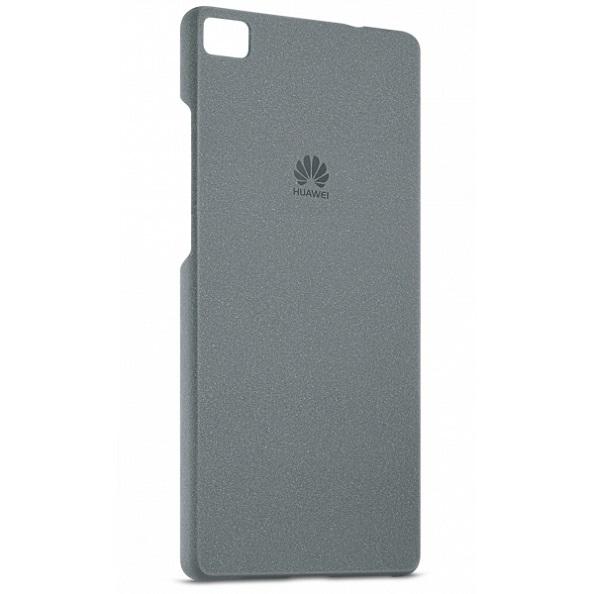 Pouzdro na Huawei Original Protective 0.8mm na P8 Lite tmavě šedé