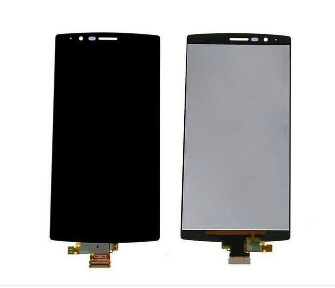 LCD display + dotyková deska + přední kryt Gold pro LG H525 G4c - originál
