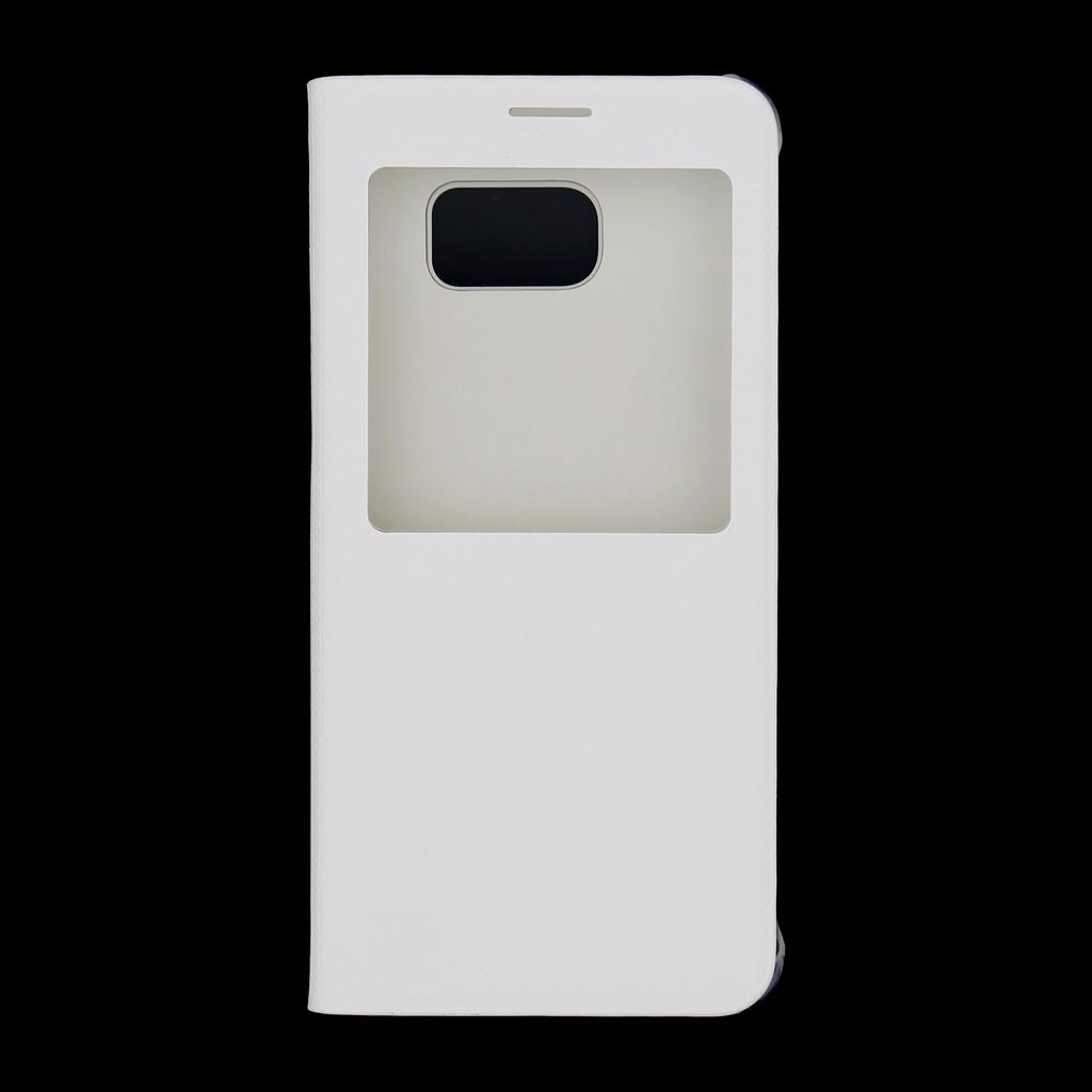 Pouzdro na mobil Samsung Galaxy S6 Edge+ EF-CG928PWE S-View bílé
