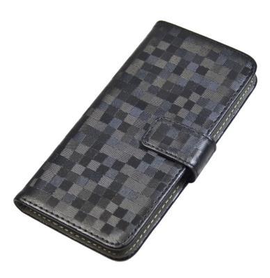 """Pouzdro flip BOOK BRILLI velikost XL (5""""-5,5"""") Aligator černé"""