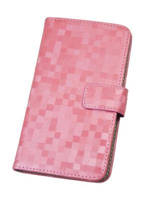 "Pouzdro flip BOOK BRILLI velikost L (4,5""-5"") Aligator růžové"