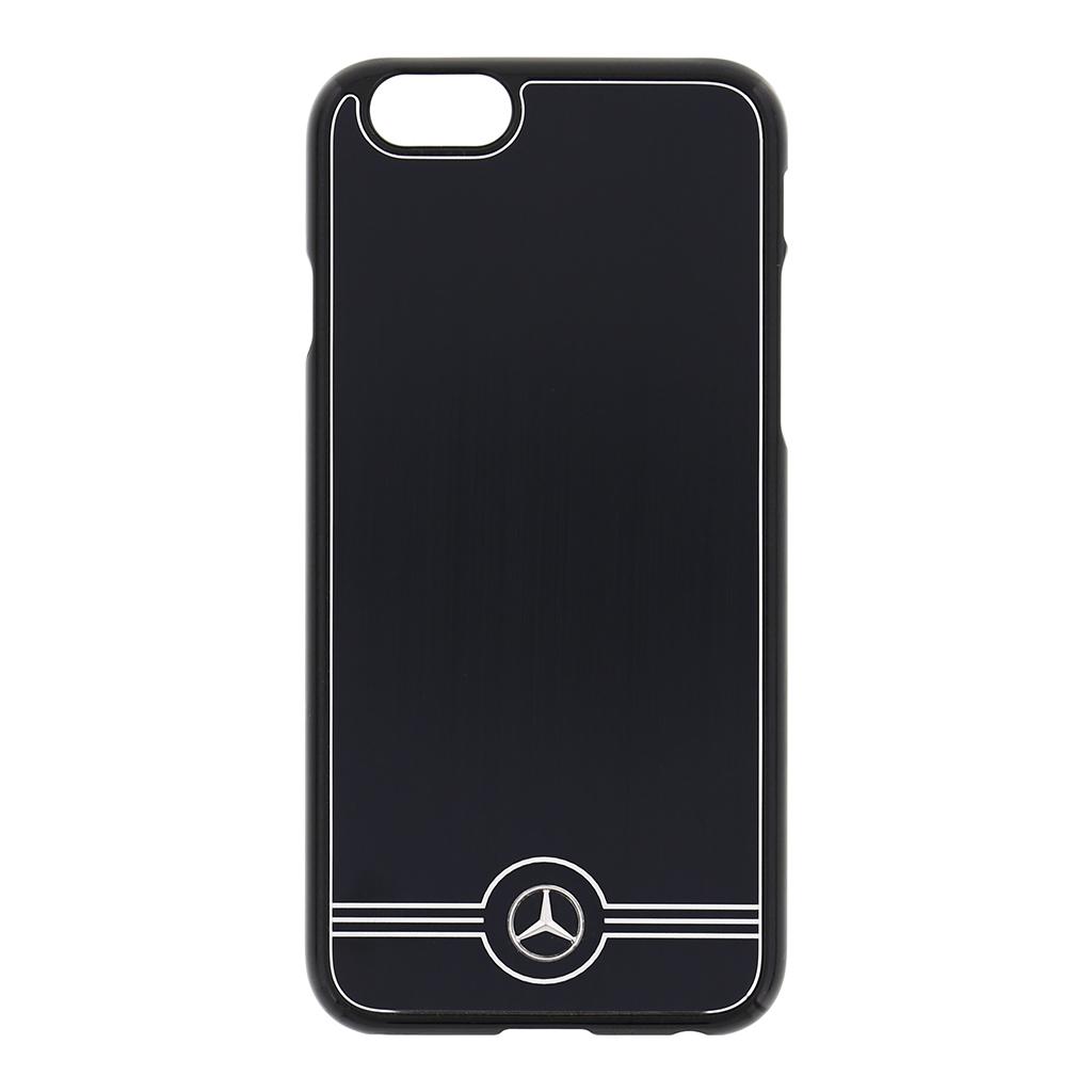 MEHCP6BRUALBK Zadní kryt Mercedes ALU iPhone 6/6s černý