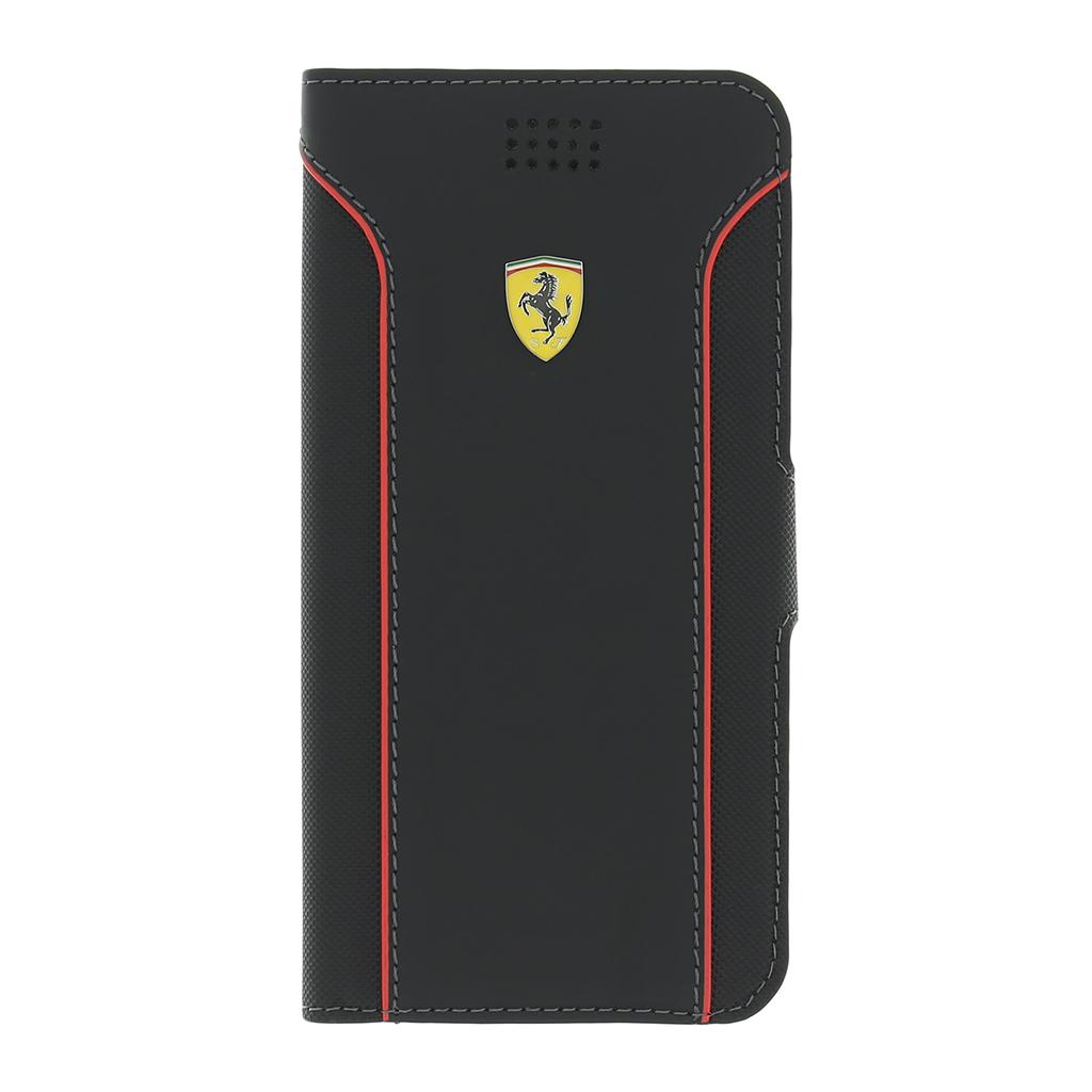 Pouzdro flip UNI Ferrari Fiorano FEDA2IBKXLBL vel. XL černé
