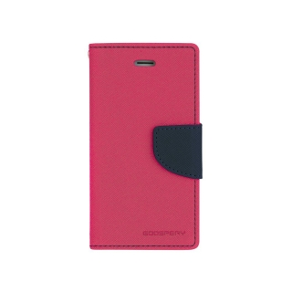 Pouzdro na mobil Mercury Fancy pro Microsoft Lumia 640 růžovo-modré