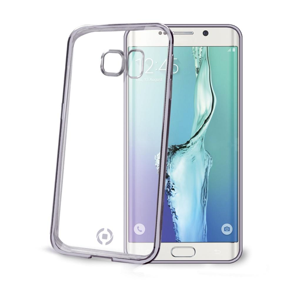 Pouzdro CELLY Laser na Samsung Galaxy S6 Edge černé