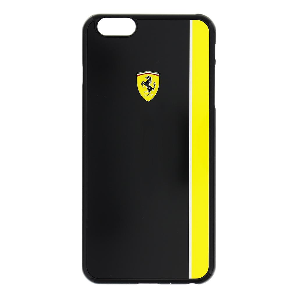 Zadní kryt Ferrari Scuderia Apple iPhone 6/6s Plus FEBKSHCP6LBKY černožlutý