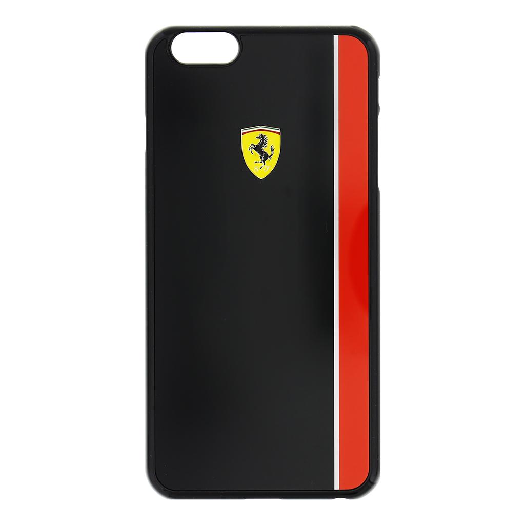 Zadní kryt Ferrari Scuderia Apple iPhone 6/6s Plus FEBKSHCP6LBK černočervený