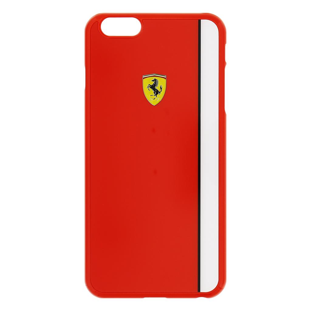 Zadní kryt Ferrari Scuderia Apple iPhone 6/6s Plus FELIHCP6LRE červenobílý