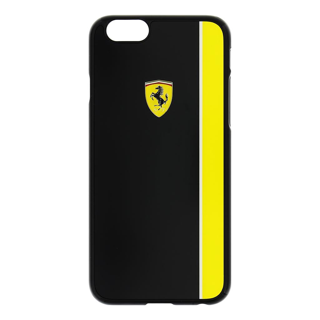 Zadní kryt Ferrari Scuderia Apple iPhone 6/6s FEBKSHCP6BKY černožlutý
