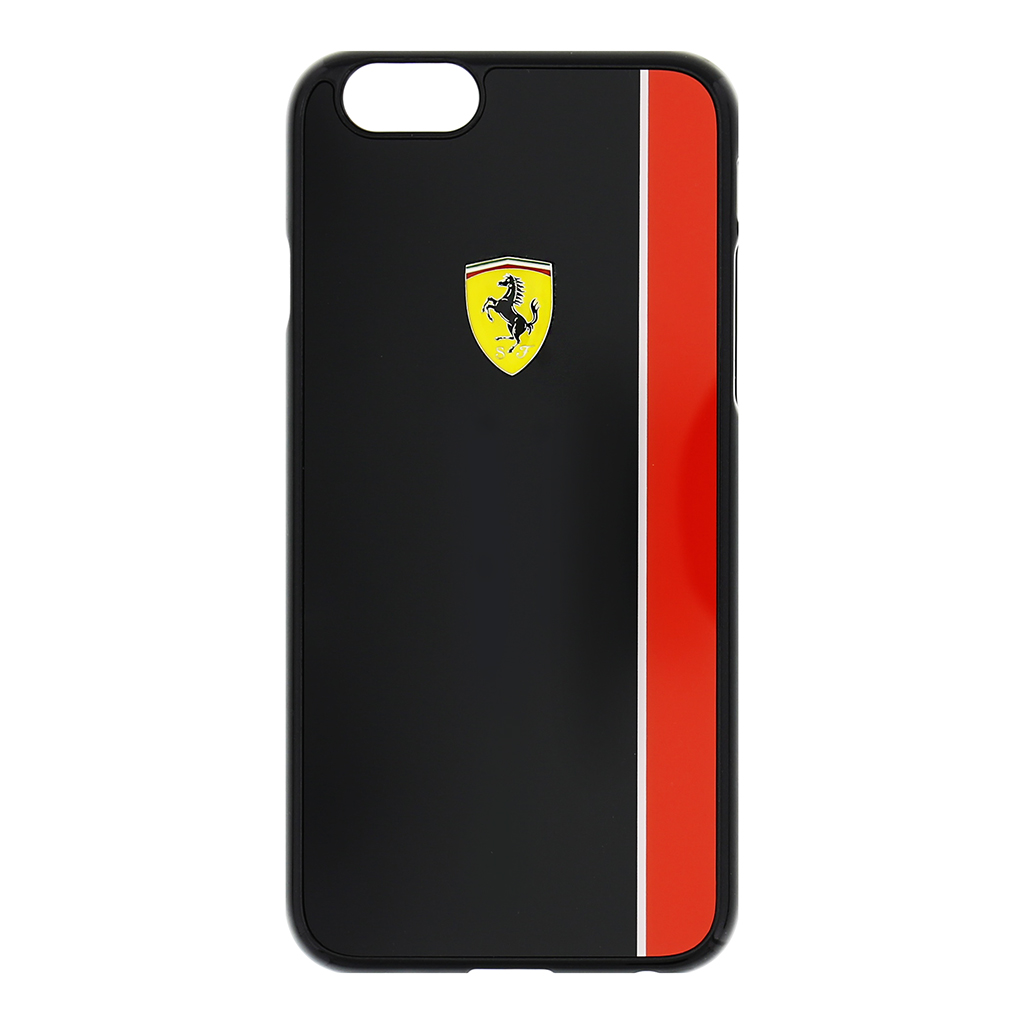 Zadní kryt Ferrari Scuderia Apple iPhone 6/6s FEBKSHCP6BK černočervený