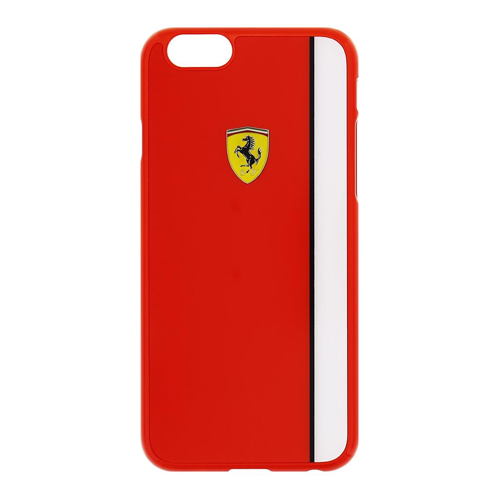 Zadní kryt Ferrari Scuderia Apple iPhone 6/6s FELIHCP6RE červenobílý