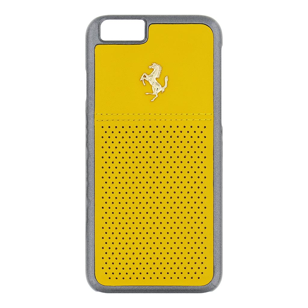 Zadní kryt Apple iPhone 6/6s FEGTBGHCP6YE Ferrari GTB žlutý