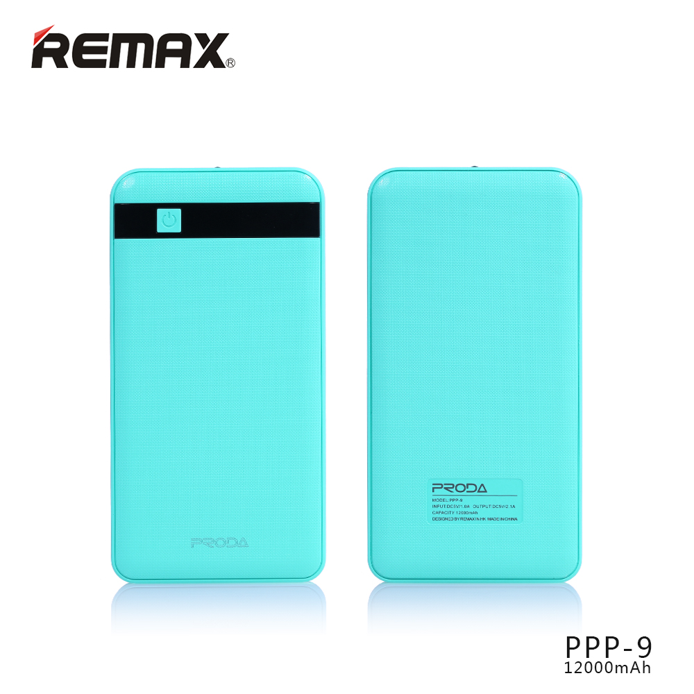 Power Bank Proda MG Remax 12000mAh Li-Pol modrá