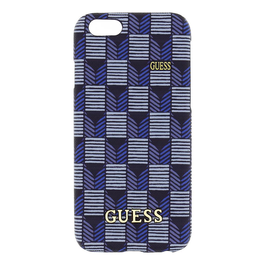 Zadní kryt na mobil Guess Hard pro iPhone 6/6S GUHCP6JSBL modré