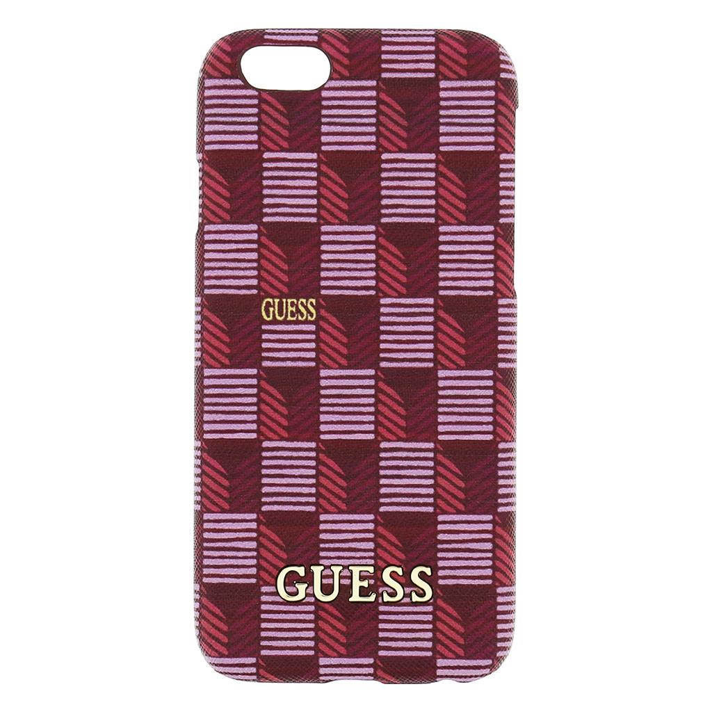 Zadní kryt na mobil Guess Hard pro iPhone 6/6S GUHCP6JSPI růžové