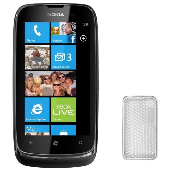 Silikonové pouzdro CELLY Gelskin na Nokia Lumia 610 čiré