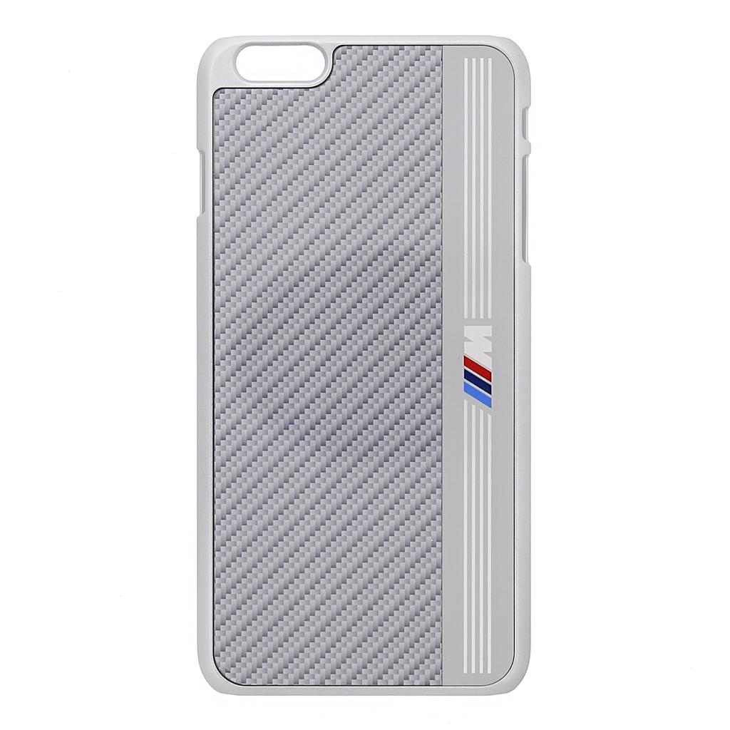 "Zadní kryt BMW Signature Aluminium Stripe pro iPhone 6 4.7"" BMHCP6MES stříbrné"