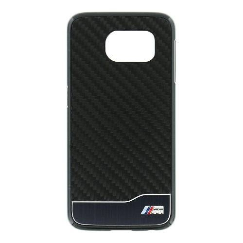 Zadní kryt BMW M Hard Case Aluminium pro Galaxy S6 BMHCS6MDCB černé