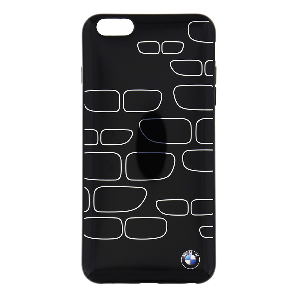 """Zadní kryt BMW Kidney pro iPhone 6 Plus 5.5"""" BMHCP6LKSBK černo-stříbrné"""