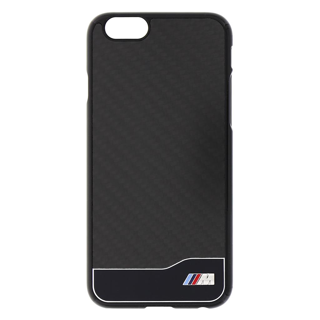 "Zadní kryt BMW Carbon Aluminium Hard Case for iPhone 6 4.7"" BMHCP6MDCB černá"