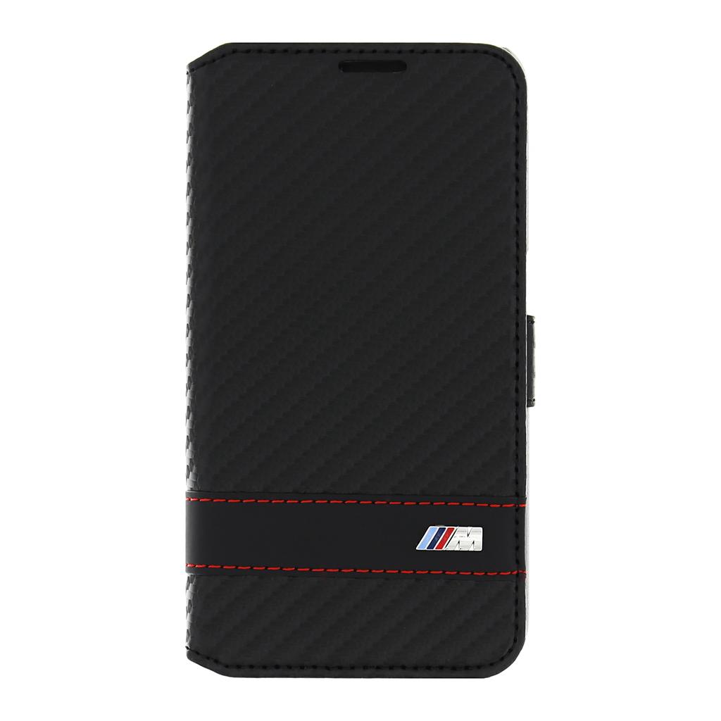 Pouzdro BMW Siganture Carbon Black pro Samsung Galaxy S6 BMFLBKS6MCC černé