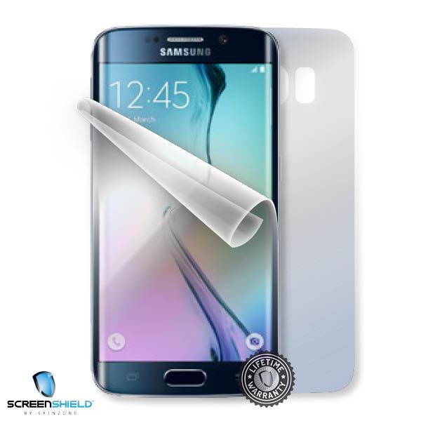 Ochranná fólie Screenshield™ na Samsung Galaxy S6 Edge ochrana celého těla