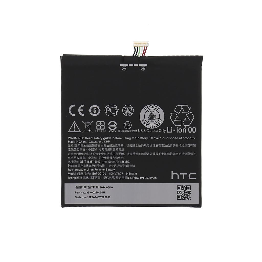 Baterie HTC B0P9C100, 2600mAh Li-Ion SWAP (Bulk)