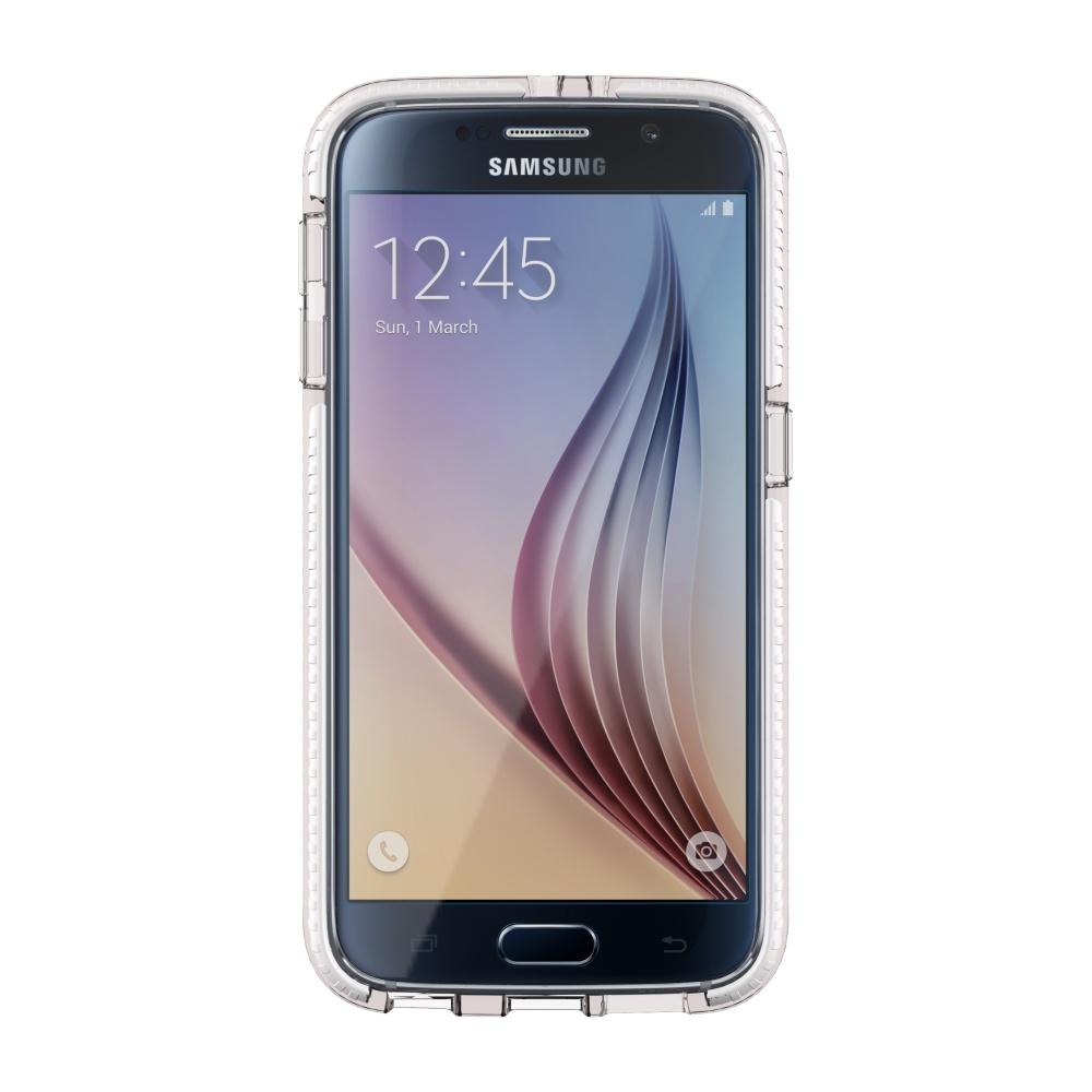 Zadní kryt Tech21 Evo Check na Samsung Galaxy S6 bíločirý
