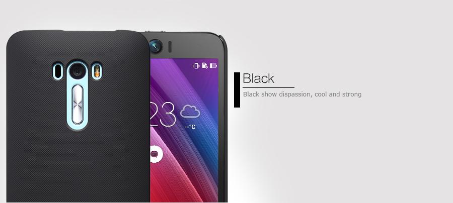 Zadní kryt pro Asus Zenfone Selfie ZD551KL, Nillkin Super Frosted černý
