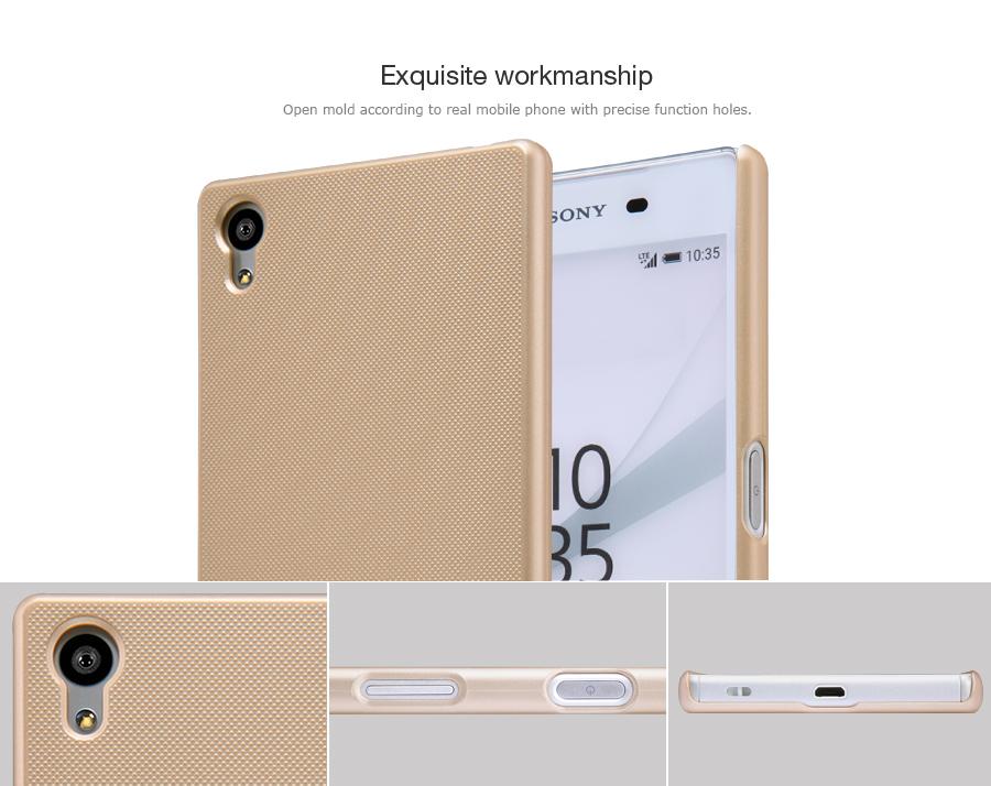 Zadní kryt pro Sony Xperia (E6653) Z5/Z5 Dual,Nillkin Super Frosted zlatý
