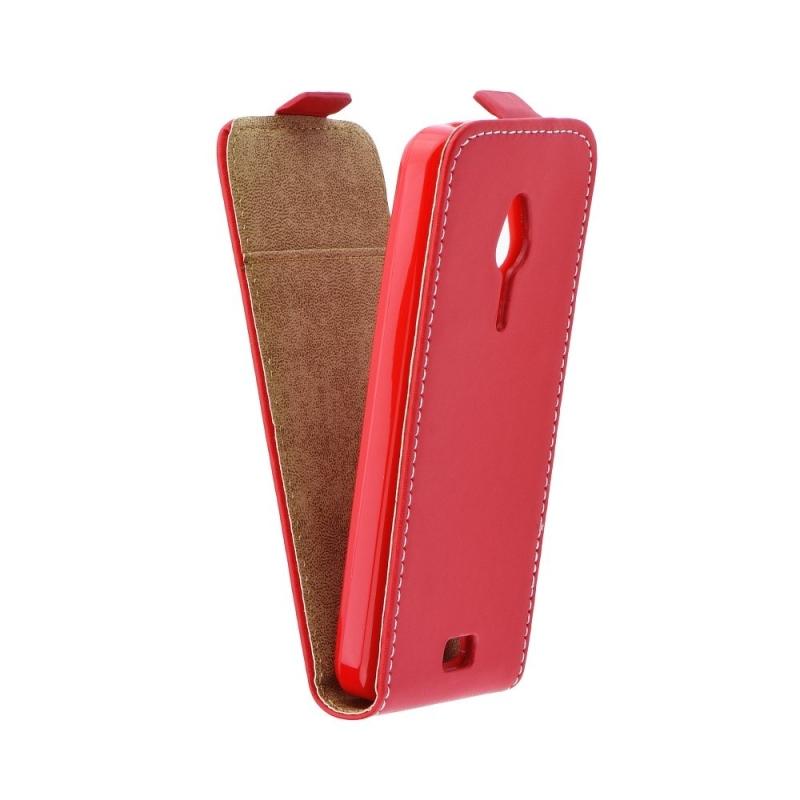 Pouzdro flip na Huawei P8 Lite ForCell Slim Flexi Fresh červené