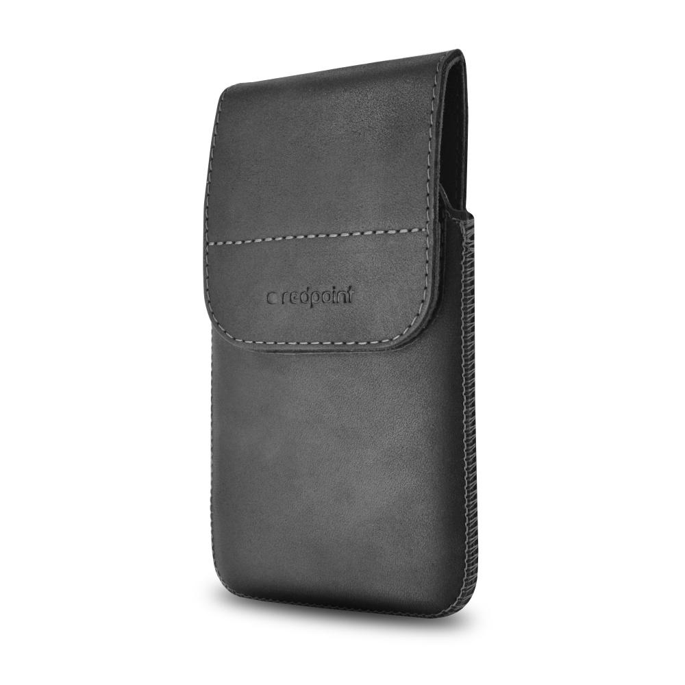 Kožené pouzdro s klipem Redpoint Posh Pocket vel. 6XL černé