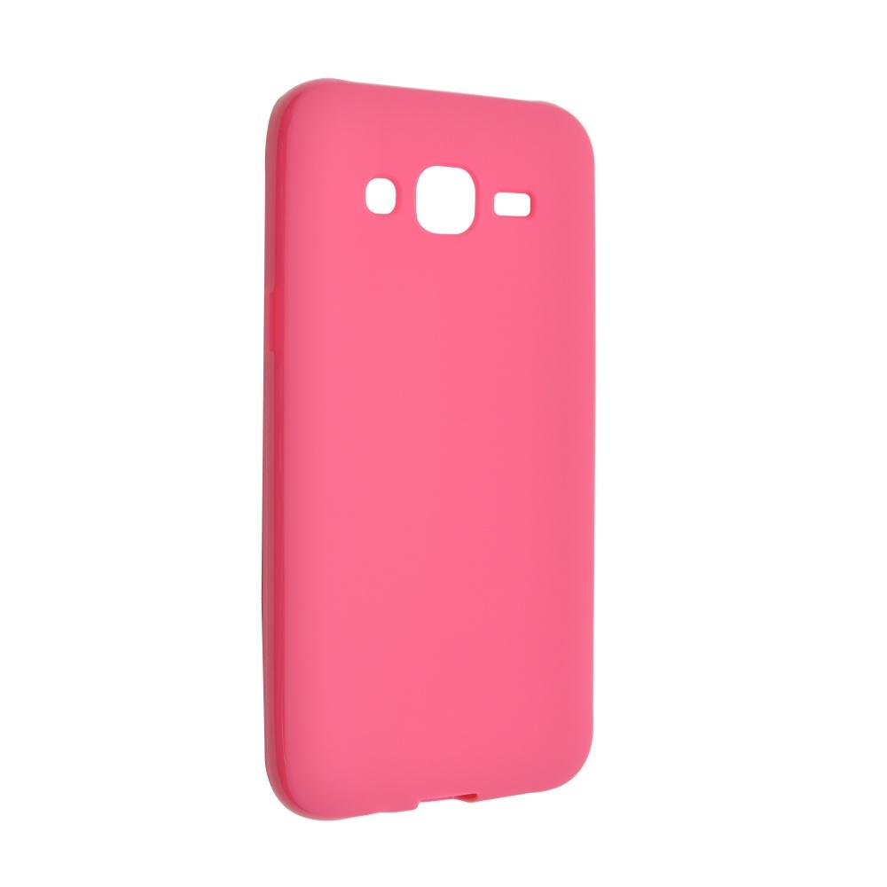 Pouzdro FIXED silikonové pro Samsung Galaxy J5 růžové
